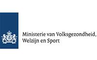 Logo - Ministerie van Volksgezondheid welzijn en sport